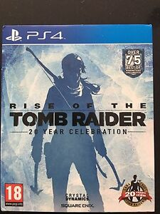 Tomb raider collector's edition PS4