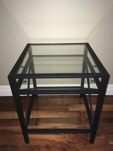 Side table & makeup table with mirror