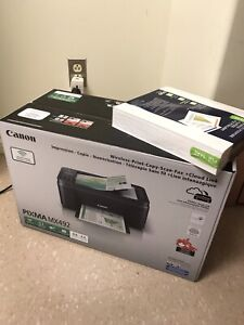 Canon Wireless Printer,Scanner, Copier and Fax ( > 1 month old)