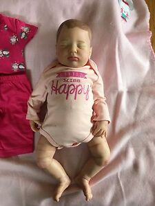 Reborn baby doll for sale by artist