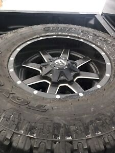 Fuel rims and Toyo tires