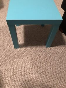 Baby Blue Side Table