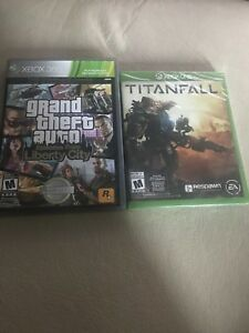 Sealed titanfall and opened gta 4 episodes only $10