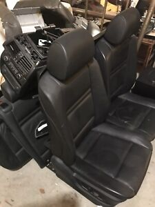 Bmw 2007 X5 front and rear seats