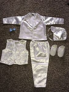 Christening outfit for baby boy