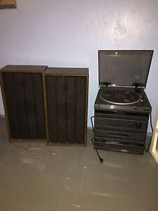 Record Player & Speakers
