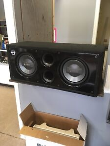 2 10in Infinity subs and amp