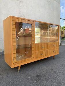Stunning retro midcentury sideboard display cabinet VGC Carlisle Victoria Park Area Preview
