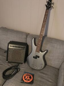Ibanez 4 string bass and Traynor Bass amp