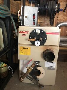 Kerr Comet Hot Water Furnace with Hot Water Heater