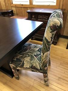 Heavy upholstered dining chairs-reduced