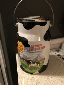 Chupa Chups Lollipops ~ Large Milk Can Pail ~ METAL TIN CAN