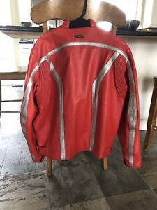 Motorcycle Jacket,New Red $350 obo