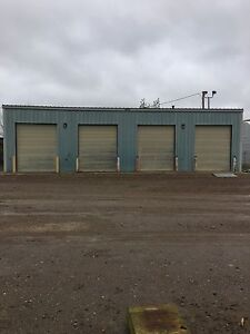 Shop space with secure yard.