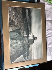 Cape spear picture framed