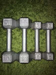 10 and 5 Pound Weights