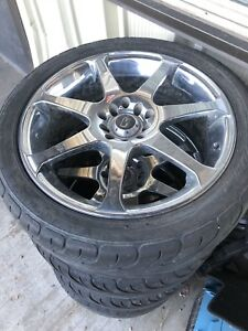 17 core rims and summertires
