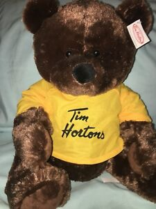 Exclusive Collectable Tim Hortons CROSBY Bear