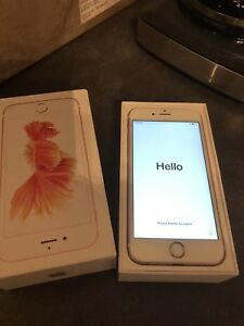 32GIG iPhone 6s ROSE GOLD