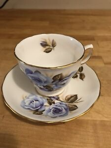 Antique Royal Vale Tea Cups and Saucers