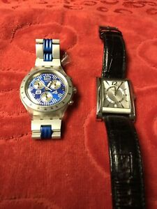 Swatch and Perry Ellis - men's wrist watches