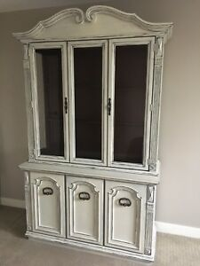 French Country Distressed Cabinet
