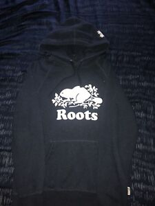 NAVY ROOTS ATHLETIC HOODY