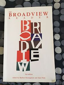 Broadview Reader third edition
