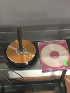 19 DVD-R and 3 CD-R