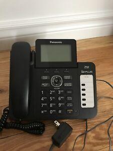 Téléphone de bureau Panasonic avec répondeur