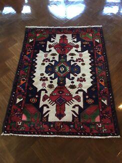 Pure Wool Afghan Rug