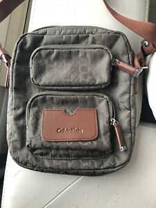 Calvin Klein cross body bag and Guess clutch