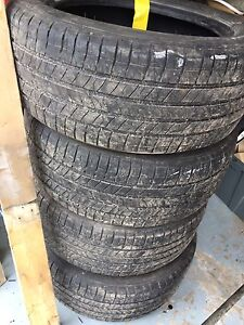"17 "" tires.  Michelin Radial X 235/50/R17"