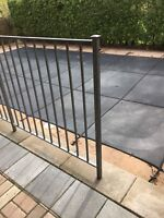 Galvanized fence replacement