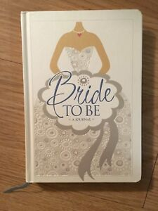 """Brand New:  """"Bride To Be"""" Journal/Devotional"""