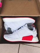 Adidas NMD R2 White/Red US10 (RARE SOLD OUT) Sydney City Inner Sydney Preview