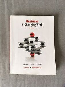 business: a changing world 5th canadian edition