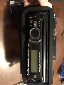 Used Dual faceoff stereo and speaker