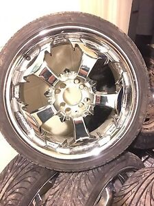 Selling mint sport rims and tires for sale