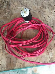 30 feet 10 gauge wire with 30 amp plug