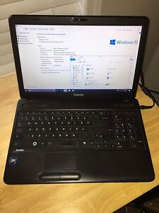 EUC Toshiba Satellite C650D00L Laptop.