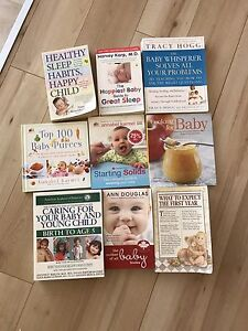 Baby Books (Baby sleep, what to expect, feeding solids etc)