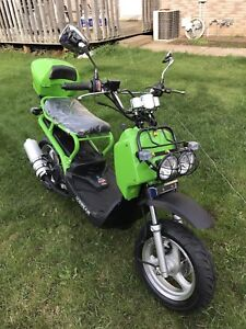2017 50cc scooter