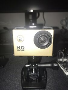 Action cam go pro perfect condition.