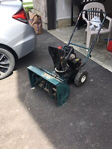 Snowblower As Is $100 or best offer