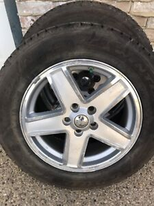 Jeep Compass Winter Tires and Rims