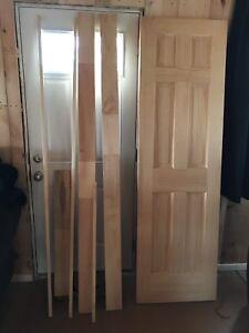 """24"""" Pine Door with Door Frame Kit"""