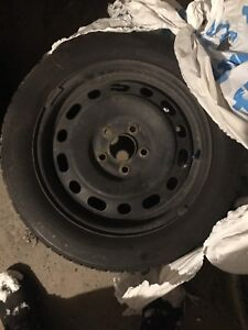 4 winter tires with Rims for 100$!!!!!