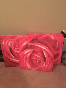 Beautiful flower paintings for wall