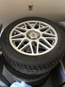 Almost new winter tires  255/50/19